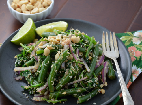 Long Bean and Watercress Salad